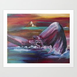 Beached by BDPJ Art Print