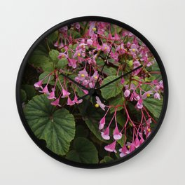 Sea of Pink Wall Clock