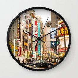 Kabukicho, Shinjuku. Wall Clock