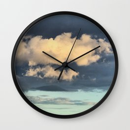 Wandering Cloud Wall Clock