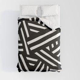 Monochrome 01 Comforters