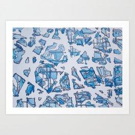 Blue Bloods Art Print