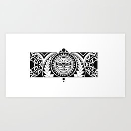 Maori Art Print