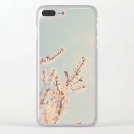 spring is in bloom ...  Clear iPhone Case