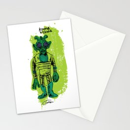 Greedo: Action Figure Tribute Doodle Stationery Cards