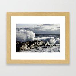 Newtons Rock Jan '12 Framed Art Print