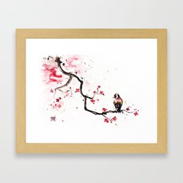 "The tiny wings ""The goldfinch"" Framed Art Print"