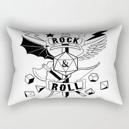 Rock and Roll the Dice Rectangular Pillow