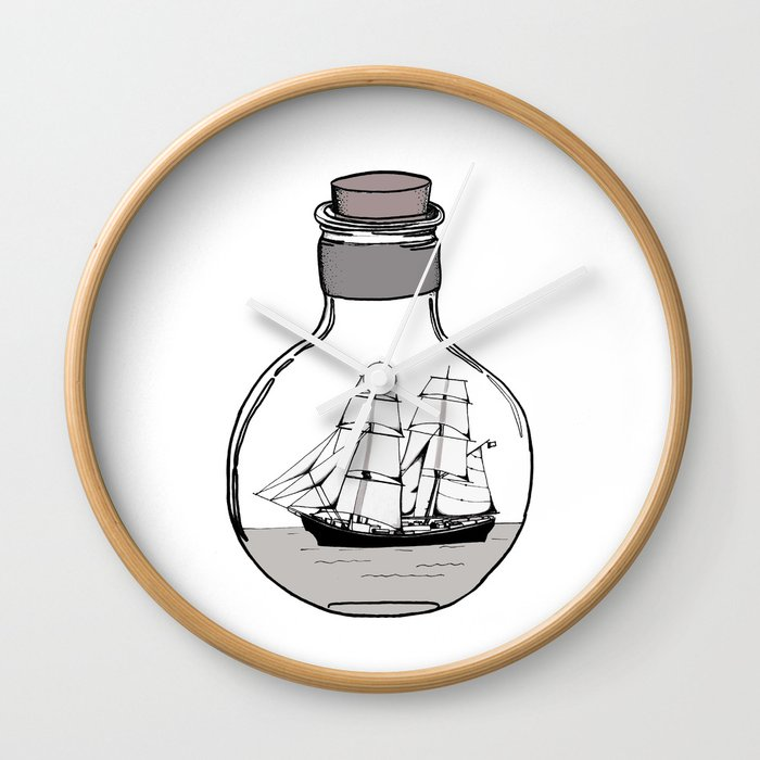 The Ship In The Glass Bulb Home Decor Apparel Wall Art Wall
