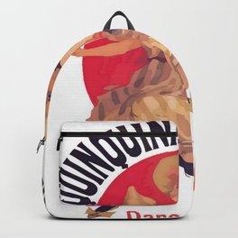 Quinquina Dubonnet Aperitif  Dans Tous Les Cafes Backpack