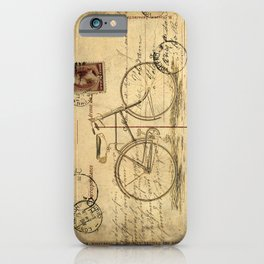 Carte Postale #2 iPhone Case