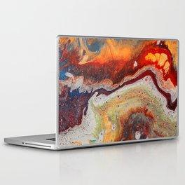 Fiery closeup Laptop & iPad Skin
