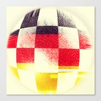 german Canvas Prints featuring German Soccer by Bunhugger Design