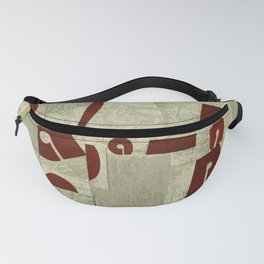 Absract Collage Fanny Pack