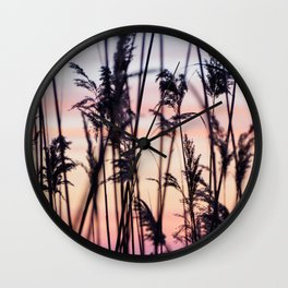 Long Point Sunset Wall Clock