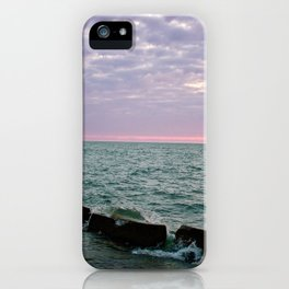 Pink Sky At Night iPhone Case