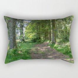 Hiking Trail - Landscape Photography Rectangular Pillow