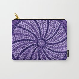 Ultra Violet Stone Tiles 18-3838 Carry-All Pouch