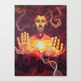 Karmic Burn Canvas Print