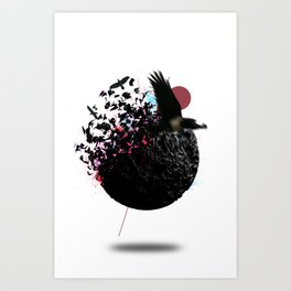 Blow Out Of Proportion Art Print