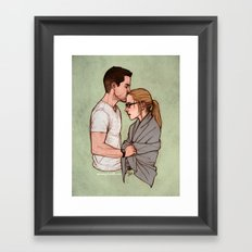 no choice to make Framed Art Print