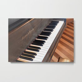 Mason & Hamlin Piano Metal Print