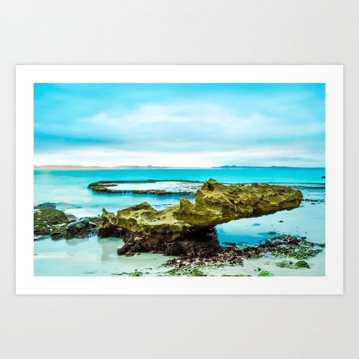 Vivonne Bay Art Print