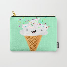 Happiness Is Sprinkles On Your Ice Cream Carry-All Pouch