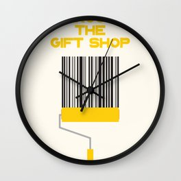 Exit Through The Gift Shop Wall Clock