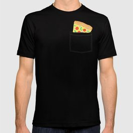 Emergency supply - pocket pizza T-shirt