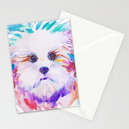 Sweet little princess lapdog Stationery Cards