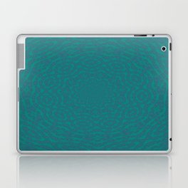 Aurora Turquoise and Blue Delicate Lace Kaleidoscope Laptop & iPad Skin
