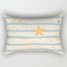 Star Pattern Rectangular Pillow