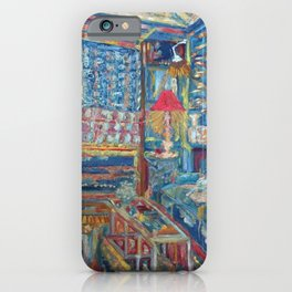 The Beautiful, Messy, Eclectic Room of the Artist When Nobody Else is Around by Pierre Bonnard iPhone Case
