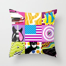P*O*P* Throw Pillow