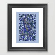 - sea sea sea - Framed Art Print