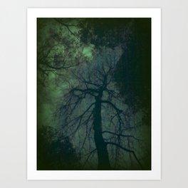 Gratitude Green Art Print