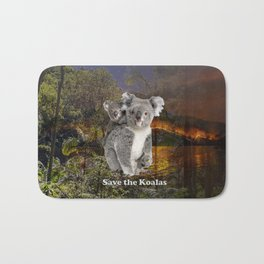 Save the Koalas Bath Mat