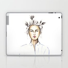 Asian girl Laptop & iPad Skin
