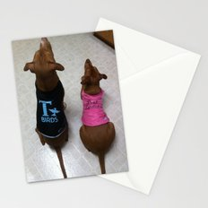 Grease Dogs Stationery Cards