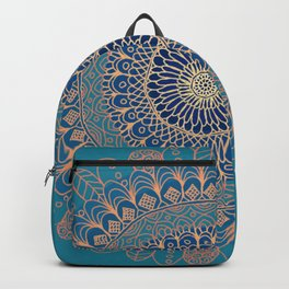 Colourful Mandala #2 - LaurensColour Backpack