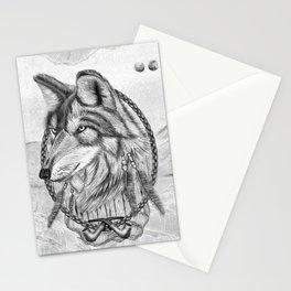 Lobo do mar Stationery Cards