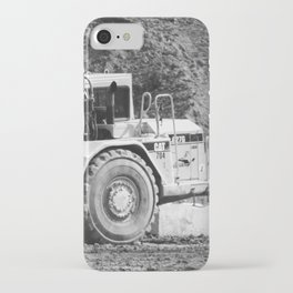 Heavy equipment at rest iPhone Case