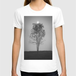 Moon over a tree T-shirt
