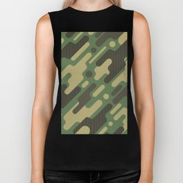 Camouflage Special Biker Tank