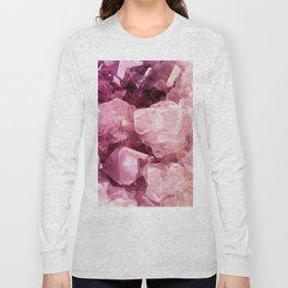 Crystal Rose Long Sleeve T-shirt