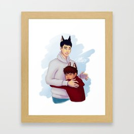 Wolf Kaisoo Framed Art Print