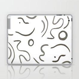 Stroke Abstract Laptop & iPad Skin