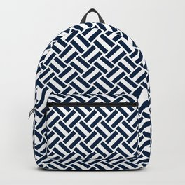 Blue + White | No. 2 Backpack