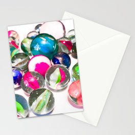 Pink Marbles Stationery Cards